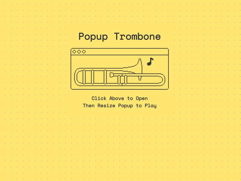 PopupTrombone