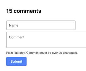 C541_commentsystem