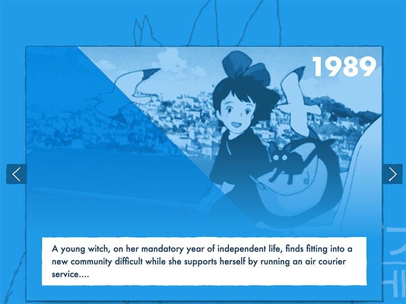 Ghibli-Slider
