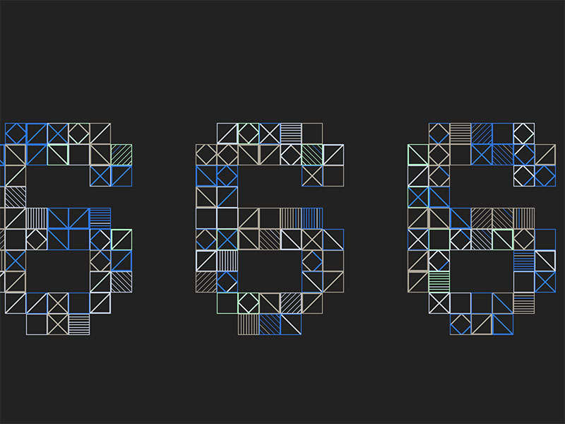 Procedurally-Generated-CSS-Numbers