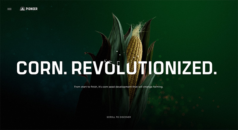 Pioneer–Corn.Revolutionized.