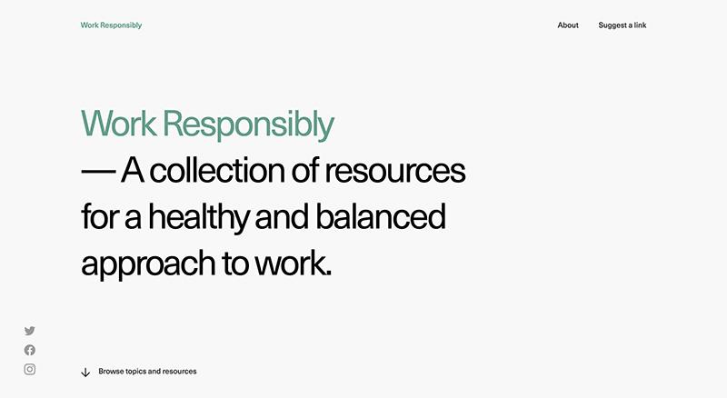 WorkResponsibly