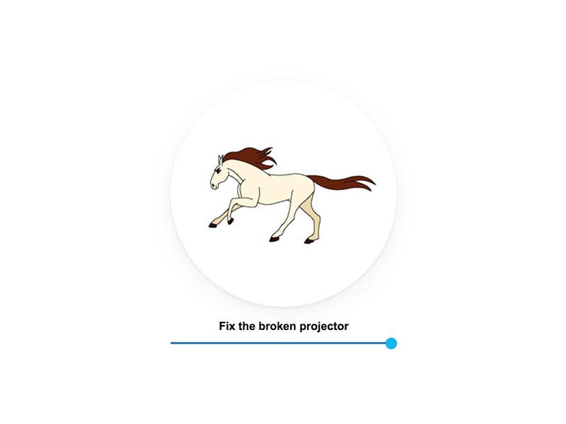 FastandSlowVintageProjectorAnimation