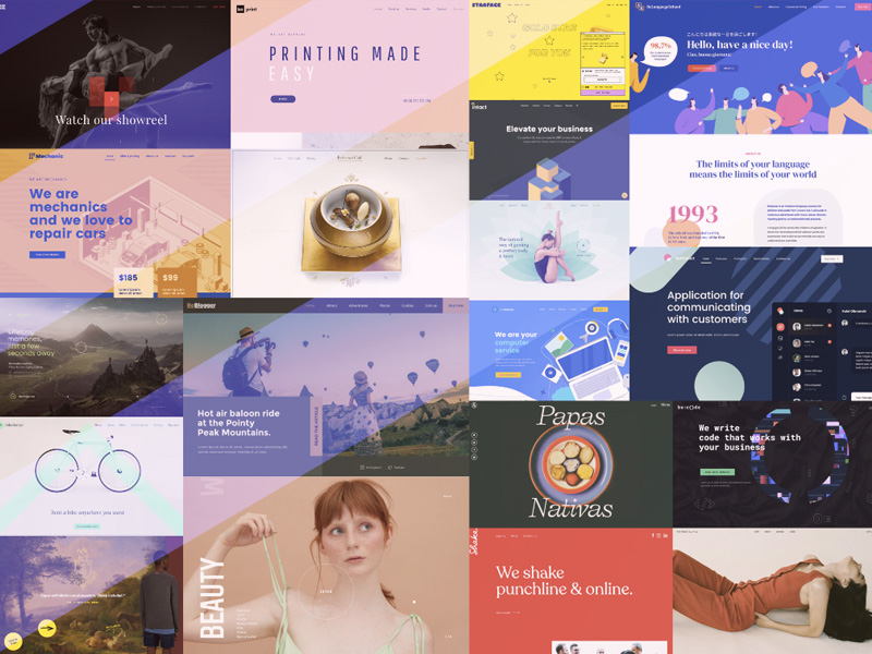 A Showcase of Creative Websites Featured Image