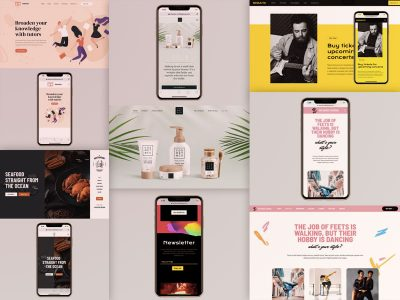 Examples of responsive designs